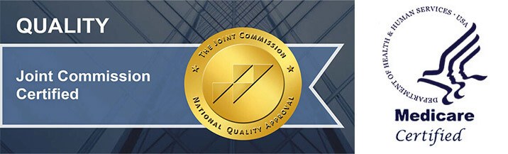 Quality Joint Commission Certified - Medicare Logo