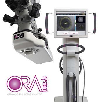 ORA Logo and Machine